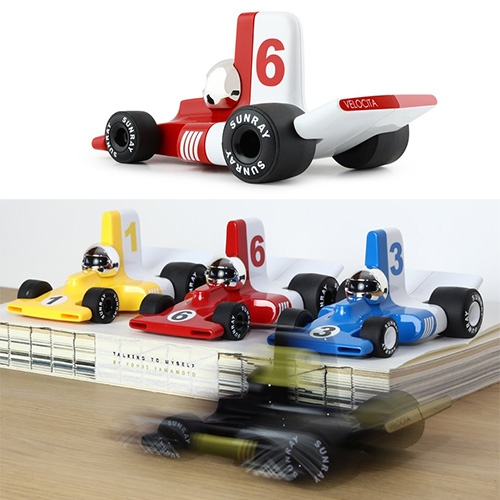 Playforever Velocita Collection of little Formula 1 cars are inspired by the 70's F1 era.