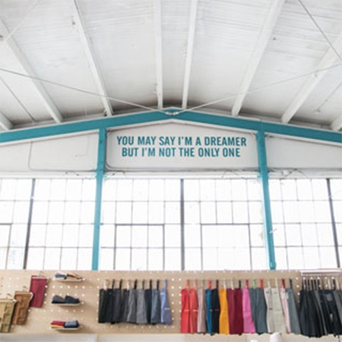Hedley & Bennet - SF Girl By The Bay takes a tour of their happy apron factory headquarters in LA!