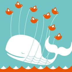 An short interview with Yiying Lu, artist behind twitter's Fail Whale image that has become iconic around the nets, from Drawn! blog.