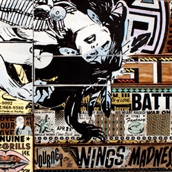 "A brand new set of gigantic craftastic ""Wood Paintings"" from art/design group FAILE - to be displayed in person at the 2009 FIAC art fair in Paris with Perry Rubenstein Gallery."