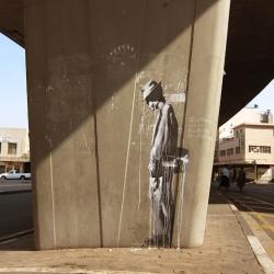 The Long Wait - Faith47 New Street Pieces In Johannesburg, South Africa.