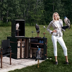 Neiman Marcus Christmas Book 2013 Fantasy Gift - Bespoke Global Falconry Companion. The ultimate falconry trunk set with everything you need for the birds... as well as a decanter, cigar carrying case and backgammon board.