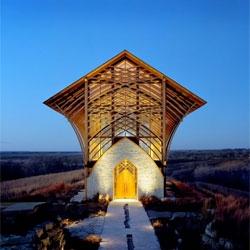 The Holy Family Shrine in Gretna, Nebraska designed by BCDM Architects.