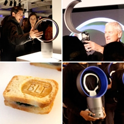 Dyson Air Multiplier Fan Launch Party! As can be expected, the details were flawless, down to the most adorable branded miniBLTs + awesome reactions to the fans!