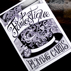 Fantastique is a beautiful deck of playing cards inspired by the apparatus of magic's golden age and the automatons of Robert-Houdin When the cards are riffled through like a flip book, the illustrations come to life.