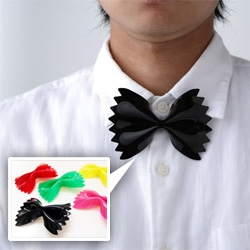 Farfalle clip on bow-tie! Designed by Micro Works