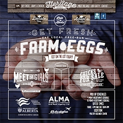 Heritage Chickens Farm Fresh Eggs - lovely website, and great concept out of Edmonton, Alberta.