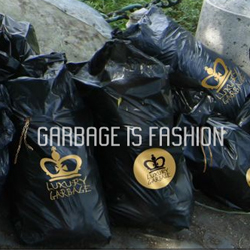 apparently in milano, this group is doing couture trash bags outside of the fancy spots... not sure how i feel about it.