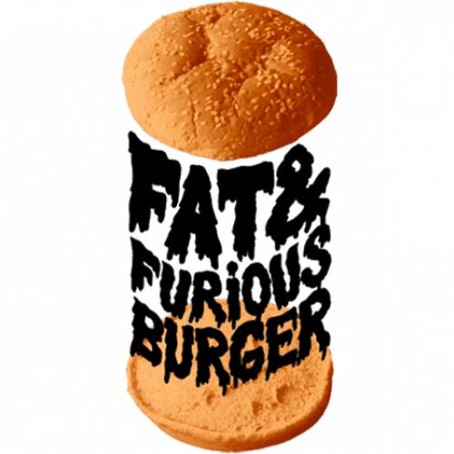 The creative FAT & FURIOUS concept, showing artistic burgers !