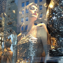 Between Worlds; a look at the Bergdorf Goodman holiday windows from a new perspective. Stunning photos by faucethead creative.