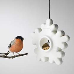 Design House Stockholm Lumi Bird Feeder designed by Max Mylius