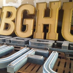 If you Love typography, this is the place for you! An entire museum dedicated to your passion: Buchstaben Museum - Berlin.