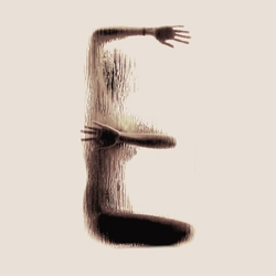 The photographic series Naked Silhouette Alphabet is Latin alphabet art, formed by the naked body and performance of experimental textures that depict the silhouette. By Anastasia Mastrakouli.