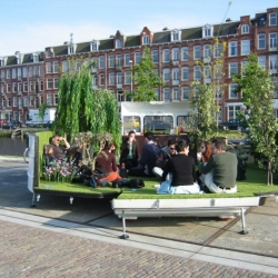 Very interesting concept of portable park by Kevin Van Braak.