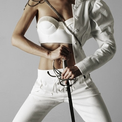 When fencing meets fashion ~ its a deadly combination... Love this shoot by Rasmus Mogensen