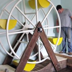 Kate Dixon's ferris wheel toy box.