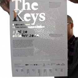 Graphic design and exhibition design for The Keys.
