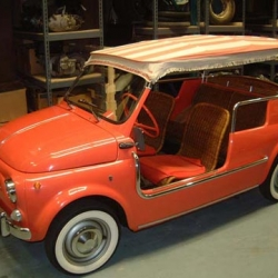 The Bruce Weiner Microcar Museum is beautiful.