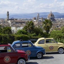 Get behind the wheel of a true Italian icon of style - a vintage FIAT 500 - for a unique and genuine adventure in Florence, Italy.