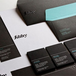 Great stationery set for Filthy design studios, printed and finished by Generation Press.