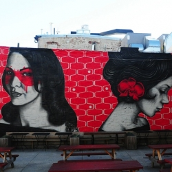 New Murals by Fin DAC and Angelina Christina in New York City for Beautify Earth.