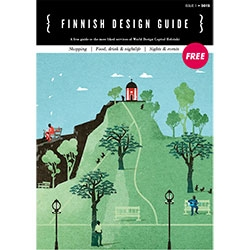 Finnish Design Guide is Finnish Design Shop´s contribution to celebrate the World Design Capital Helsinki 2012