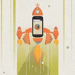 Adorable Firefox for Android video ~ great illustrations in this animation!