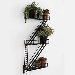 Fire Escape Mini Shelf!