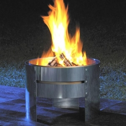Get that perfect fire roaring away in your yard!  Nothing centers and inspires me more than a crisp night with hot flames.  This is designed by WMF of Germany.