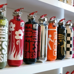 Fire Design - The very beautiful French fire extinguishers.
