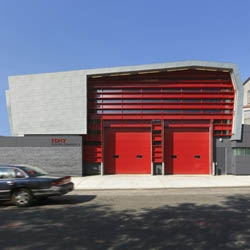 FDNY Rescue Company 3 by Ennead Architects is probably the coolest firehouse you will ever see.