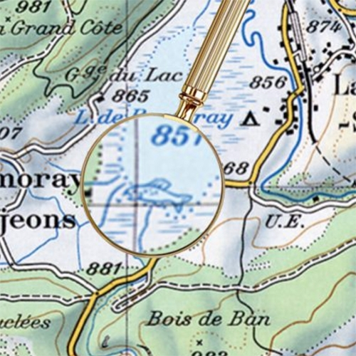 """For Decades, Cartographers Have Been Hiding Covert Illustrations Inside of Switzerland's Official Maps"" on AIGA Eye on Design by Zoey Poll - amazing!"