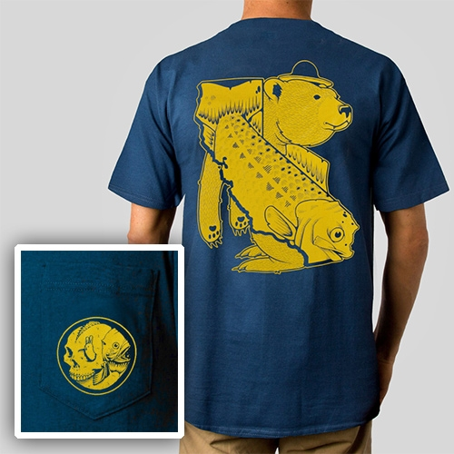 Fish & Game Pocket T-Shirt by Jeremy Fish for Upper Playground (There's also a waterproof button-down nylon coach's jacket!)