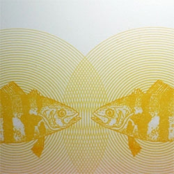 Who doesn't want to send a fish through the mail? From design duo Sub-Studio - this is the Banded Rudderfish card from the upcoming FISH series.
