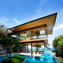 Guz Architects have completed the Fish House in Singapore.