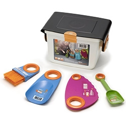 My First Fiskars Box Set with small garden tools for kids!