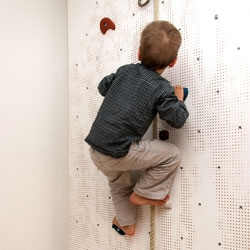 The Fitz Roy Climbing Wall is a DIY item that makes Patagonia's famous peak accessible for kids.