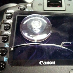 How to fix a broken (Canon 5D MKII) dslr screen ~ yourself!