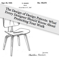 "In light of the Pen Type-A/Torr situation #49788, here's a great must read from Core77 - their series ""The Design of Design Patents: What Every Designer Should Know About Protecting Your Work"""