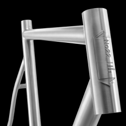 No. 22 Bicycle Company introduces their new aerospace grade Titanium fixed gear bike frame.