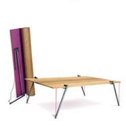 """like my favorite piece of furniture - """"table in a bag"""" - La Transportable, designed by Thomas Duserre"""