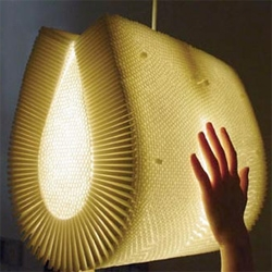 incredible, its made of straws!  padlab has loads of other straw inspired objects too.