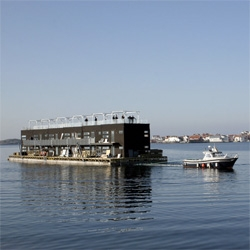Salt to Sill ~ Sweden's first floating hotel !!!