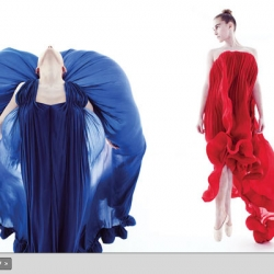 Beautiful  slide show  of spring dresses from New York Fashion. The photos are more beautiful than the dresses themselves.