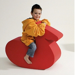 The Fluffizoo menagerie of toys are designed to ride, sit and bounce the day away.