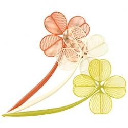 Feeling Lucky? Four leaf clover fly swattter ~