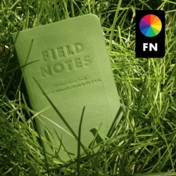 Field Notes - now in GREEN! Limited edition color that is available only through the subscription service!