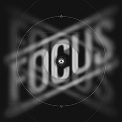 FOCUS! Awesome reminder of an art print for every studio space from Delicious Design League
