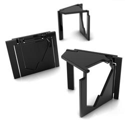 A flat folding stool by Serdar Sişman