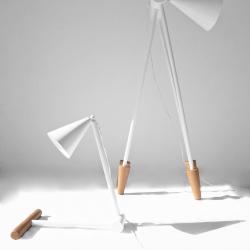 Foldy lamp family by Ia Kutateladze.